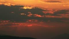 Sunset 4k Stock Footage