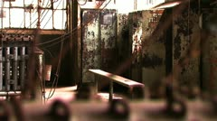 Bethlehem Steel Break/Work Room 4 Stock Footage
