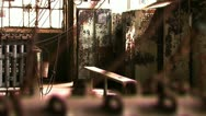 Stock Video Footage of Bethlehem Steel Break/Work Room 4