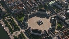 Amalienborg Palace, Copenhagen Stock Footage