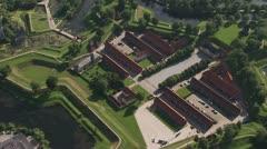 Frederikshavn Citadel, Copenhagen Stock Footage