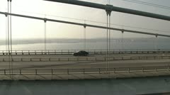 Little Belt Bridge, Aerial Stock Footage