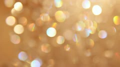 Bokeh, lights, glitter, glare 001 Stock Footage
