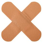 Patch in cross shape Stock Photos