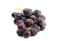 Stock Photo of fresh blue grape
