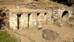 Inca ruins in Cuenca, Ecuador Stock Footage