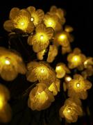 Stock Photo of decorative floral lights
