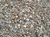 Stock Photo of medium-sized pebbles as background texture