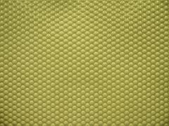 green bumpy ceramic tiles - stock photo