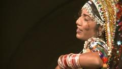 Indian dancer Stock Footage