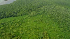 Aerial of Pohnpei Stock Footage