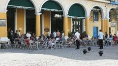 Factoria Vieja Brew Pub Havana Cuba Stock Footage