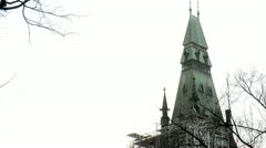CONSTRUCTION OF PARLIAMENT HILL CANADA Stock Footage