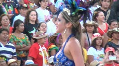Beautiful Female Pageant Model, Woman, Beauty Queen Stock Footage