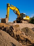 Stock Photo of excavator