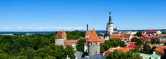 Stock Photo of tallinn panorama