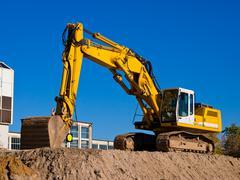 Stock Photo of excavator