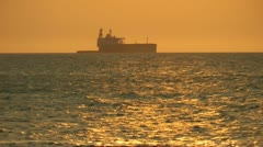 Cargo Ships, Shipping Industry, Freight Transportation Stock Footage