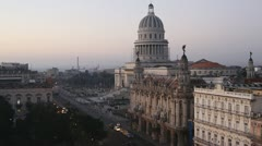 Havana Evening Stock Footage