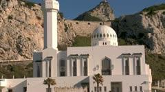 Gibraltar Mosque, Stock Footage