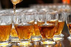 Stock Photo of brandy glass