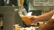 Stock Video Footage of Beer at Concession Stand