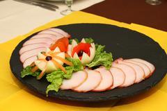 Cattering ham - stock photo