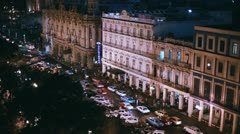 Night In Havana Stock Footage