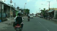 Bali drive Kintamani 2 Stock Footage