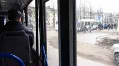 City bus Stock Footage