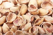 Stock Photo of nutshells of pistachios