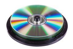 Optical disks Stock Photos