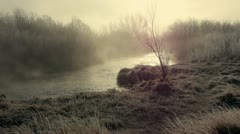 Misty River 1 Stock Footage