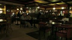 Irish Pub D Stock Footage