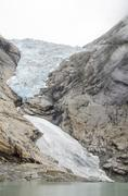 Norway - Briksdal glacier - Jostedalsbreen National Park - stock photo