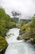 Stock Photo of Norway - Jostedalsbreen National Park - Nature