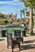 Views of madinat jumeirah hotel Stock Photos
