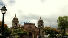 Cathedral of Ayacucho Stock Footage