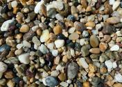 Stock Photo of Pebbles on the beach