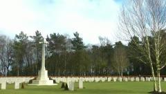 Gravestones Stock Footage