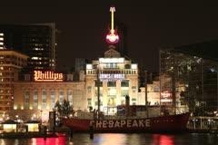 Chesapeake Lightship Stock Footage