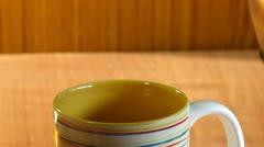 Prepare delicious coffee Stock Footage