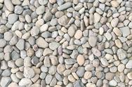 Stock Photo of pebble heap as abstract natural background.