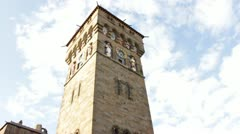 Gate House Tower Stock Footage