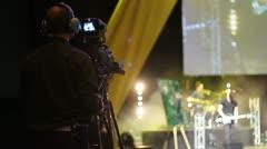 event cameraman - HD - stock footage