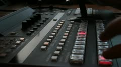 switcher multi camera fade - HD - stock footage
