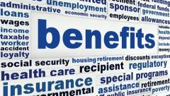 Benefits social support concept Stock Footage