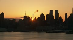 Stock Video Footage of New York City Sunrise Timelapse 1