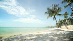 Beach Paradise - stock footage