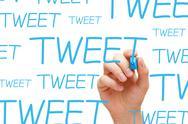 Tweet concept Stock Photos